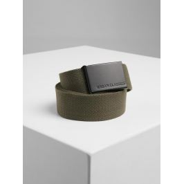 Canvas Belts olive/black Standardní