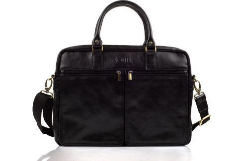 SOLIER ČERNÁ TAŠKA NA NOTEBOOK (SL01 BLACK) Velikost: univerzální Pánské tašky