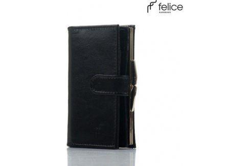 FELICE Dámská černá peněženka (P13) velikost: univerzální, odstíny barev: černá Peněženky