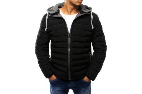 BASIC Černá prošívaná bunda (tx1759) velikost: 2XL, odstíny barev: černá Pánské bundy a kabáty