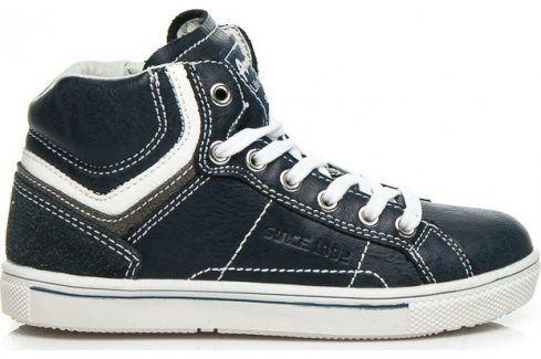 AMERICAN CLUB Chlapecké modré boty -  K151787N velikost: 32, odstíny barev: modrá Dětská obuv