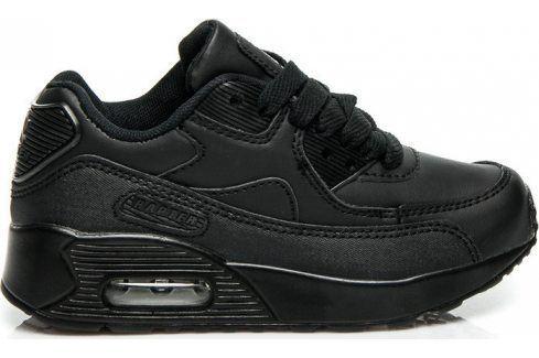 VICES Dívčí černé tenisky -  B760B velikost: 31, odstíny barev: černá Dětská obuv