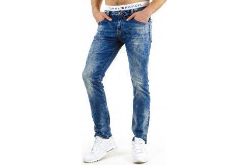 BASIC Pánské modré džíny (ux0570) velikost: 29, odstíny barev: modrá Pánské kalhoty