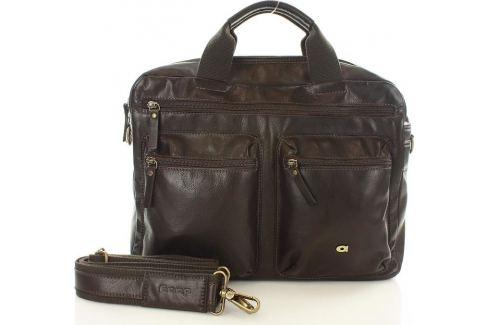 DAAG HNĚDÁ KOŽENÁ TAŠKA NA NOTEBOOK TAKE AWAY  (DG71A) Velikost: univerzální Pánské tašky