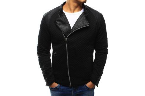 BASIC Černá bunda jaro/podzim (tx1213) Velikost: S Pánské bundy a kabáty