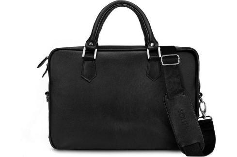 ČERNÁ PÁNSKÁ TAŠKA SOLIER (SL22 BLACK) Velikost: univerzální Pánské tašky