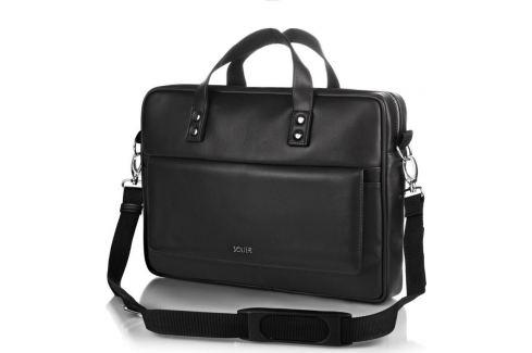 SOLIER S32 Taška přes rameno (S32 BLACK MAT) Velikost: univerzální Pánské tašky