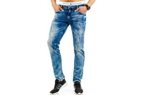 BASIC Pánské modré džíny  (ux0687) Velikost: 29 Pánské kalhoty