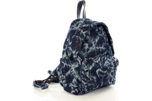 VEROSTILO Prostorný batoh námořnická modř CHLOE TESSUTO (pl25b) Velikost: univerzální Batohy