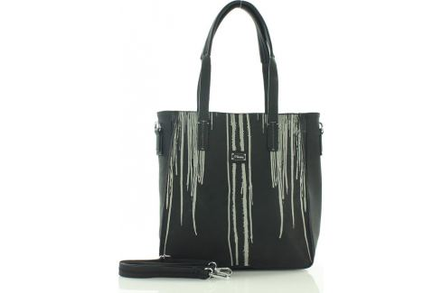 Černá nákupní taška FURRINI (e264a) Velikost: univerzální Kabelky