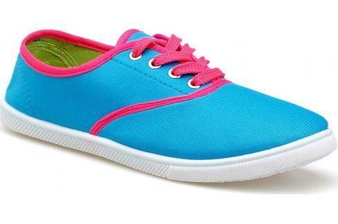 Modré tenisky 9835 velikost: 36, odstíny barev: modrá Dámská obuv