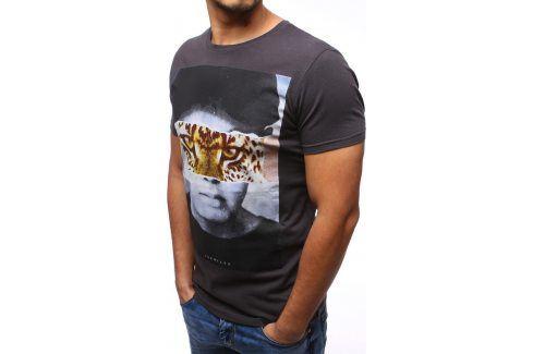 BASIC Pánské tričko s krátkým rukávem (rx1069) velikost: L, odstíny barev: černá Pánská trička