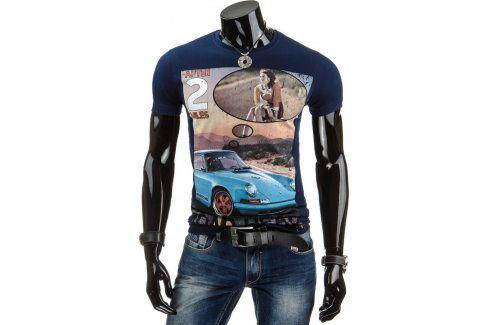 BASIC Pánské tričko (rx1120) velikost: 2XL, odstíny barev: modrá Pánská trička