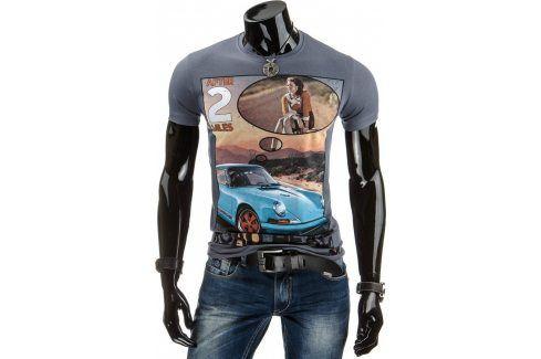 BASIC Pánské tričko (rx1121) velikost: 2XL, odstíny barev: šedá Pánská trička