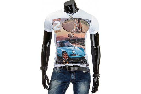 BASIC Pánské tričko (rx1122) velikost: XL, odstíny barev: bílá Pánská trička