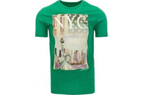 BASIC Pánské tričko s krátkým rukávem (rx1134) velikost: 2XL, odstíny barev: zelená Pánská trička