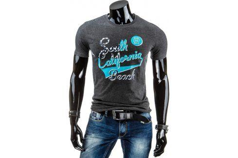 BASIC Pánské tričko s krátkým rukávem (rx1151) velikost: M, odstíny barev: černá Pánská trička
