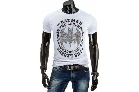 BASIC Pánské tričko s krátkým rukávem (rx1362) velikost: L, odstíny barev: bílá Pánská trička