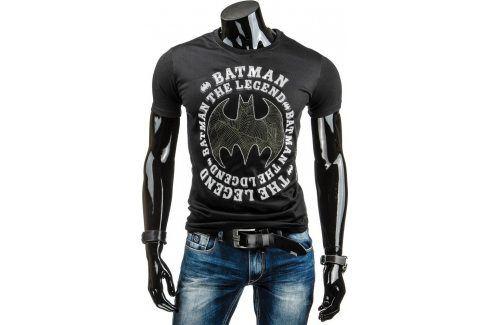 BASIC Pánské tričko s krátkým rukávem (rx1363) velikost: XL, odstíny barev: černá Pánská trička