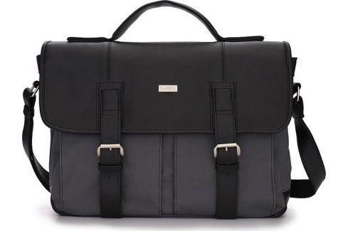 Pánská černo-šedá taška SOLIER (S14 BLACK/GREY) Velikost: univerzální Pánské tašky