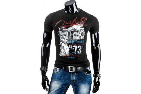 BASIC Pánské tričko (rx1515) velikost: XL, odstíny barev: černá Pánská trička