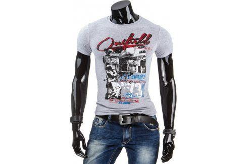 BASIC Pánské tričko (rx1522) velikost: 2XL, odstíny barev: šedá Pánská trička