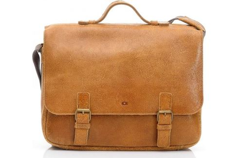 DAAG Kožená camel taška přes rameno (dg3a) Velikost: univerzální Pánské tašky