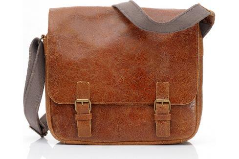 DAAG Pánská kožená camel taška (dg1a) Velikost: univerzální Pánské tašky