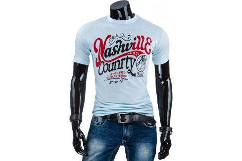 BASIC Pánské tričko (rx1558) velikost: 2XL, odstíny barev: modrá Pánská trička