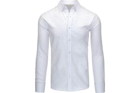 BASIC Pánská bílá košile (dx1130) Velikost: 2XL Pánské košile