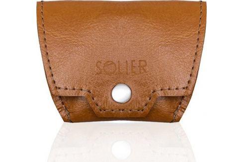 Solier Accessories PÁNSKÁ HNĚDÁ PENĚŽENKA NA MINCE SOLIER (SA10 CAMEL) Velikost: univerzální Peněženky