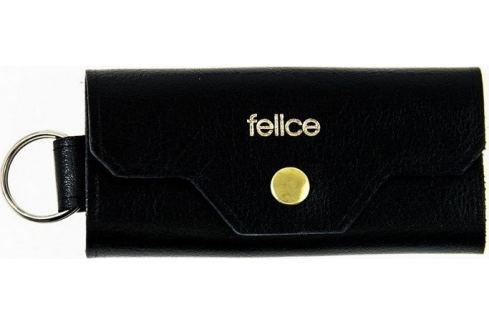 FELICE Kožené pánské pouzdro na klíče SOLIER (FA11 BLACK) Velikost: univerzální Pouzdra