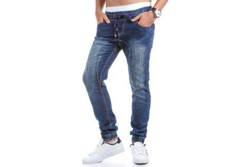BASIC Pánské modré kalhoty (ux0407) Velikost: 29 Pánské kalhoty