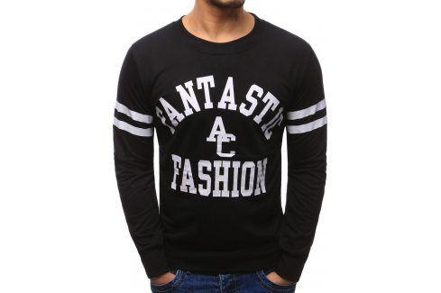 BASIC Pánské černé tričko (bx1222) velikost: 2XL, odstíny barev: černá Pánské mikiny