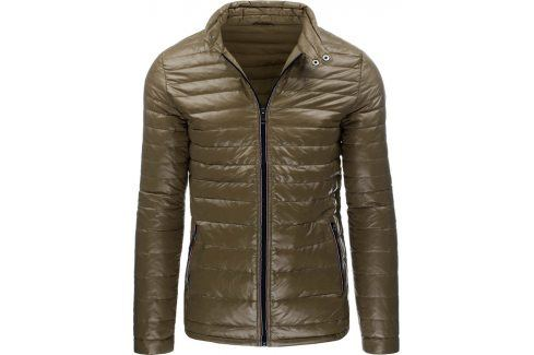 BASIC Pánská béžová bunda (tx1108) velikost: 2XL, odstíny barev: béžová Pánské bundy a kabáty
