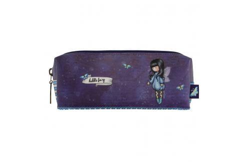 Santoro London - Pouzdro/Kosmetická taška - Gorjuss - Bubble Fairy Fialová - modrá Kosmetika a zdraví